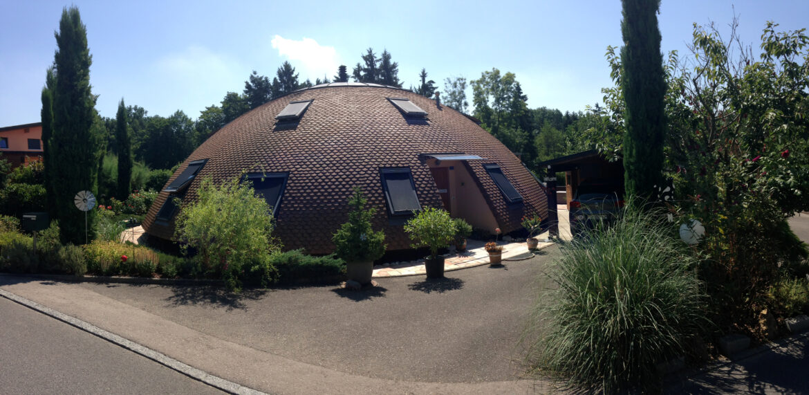Exclusively Built Geodesic Dome Home
